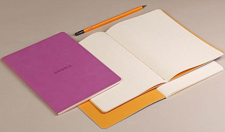 Rhodiarama Sewn Notebook