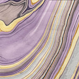 Thai Marble Purple/Yellow/Lilac/Silver Grey