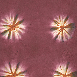 Tie-Dyed Lokta Cranberry