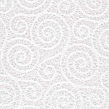 Lace White Scroll