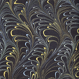 Metallic Plumes - Gold/Green/Black